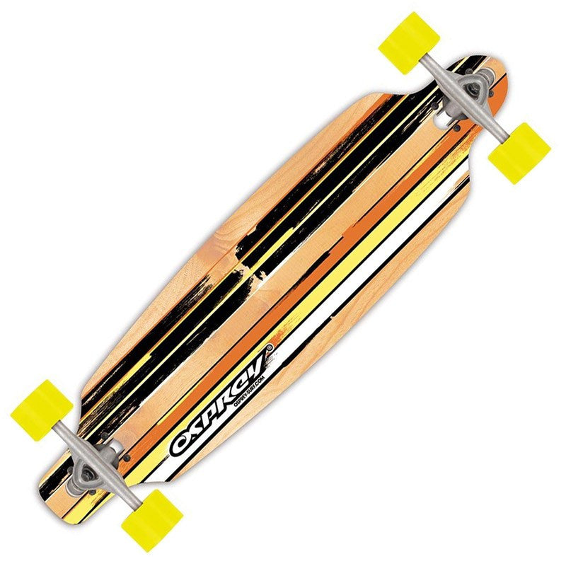 Osprey Twin Tip Yellow Longboard