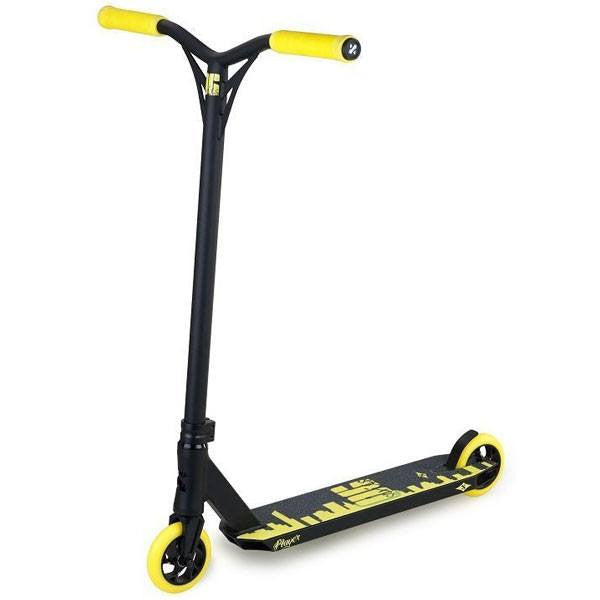 Sacrifice OG Player Black Yellow Stunt Scooter - Main View