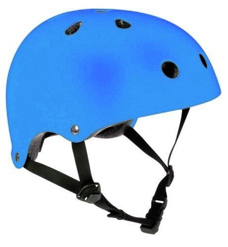 SFR Essentials Matt Blue Adjustable Skate Bike Helmet - Main View