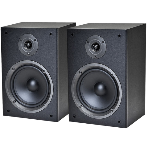 Monoprice 108250 2-Way Bookshelf Speakers