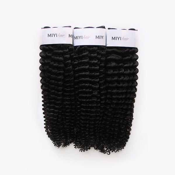3B/3C Kinky Curly Texture - 1 Bundle