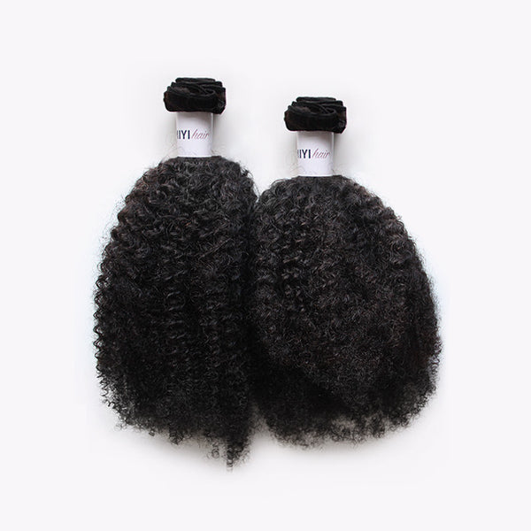 3C/4A Kinky Curly Texture - 4 Bundles