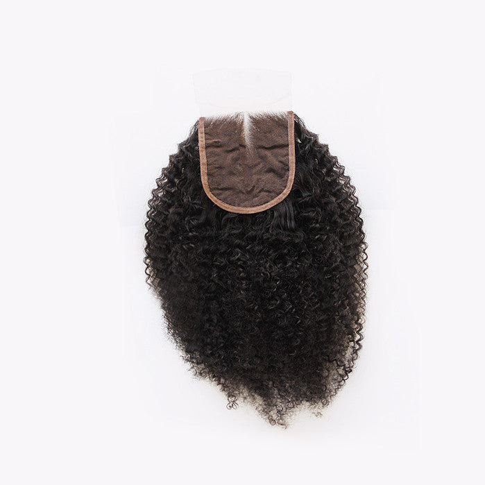 3C/4A Kinky Lace Closure - Free Part
