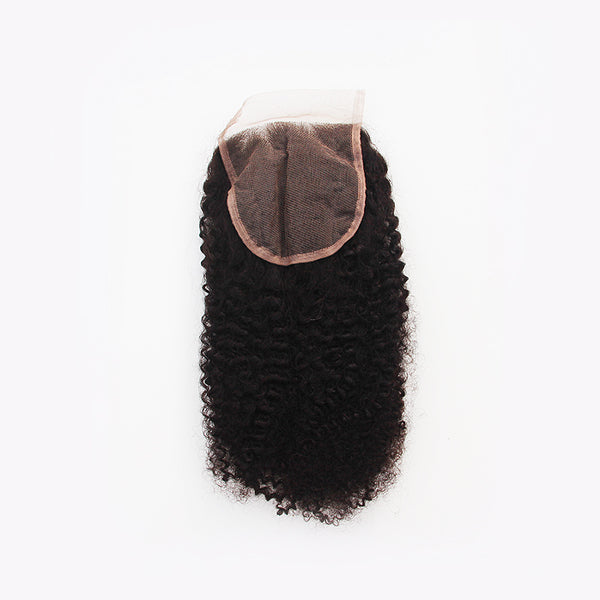 4B/4C Kinky Lace Closure - Free Part
