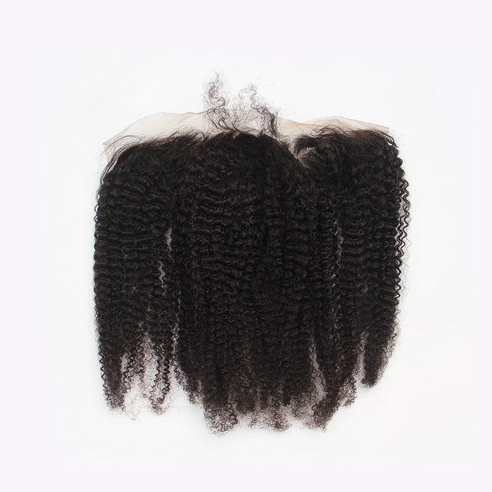 4B/4C Kinky Curly Lace Frontal Closure