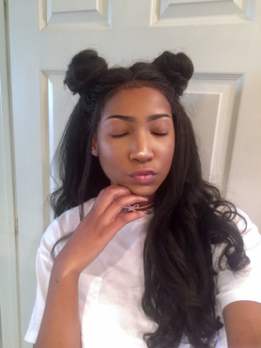 Kinky Straight Lace Frontal Closure - Free Part