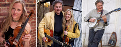 Birds and Beans Coffee House Presents Harvey Reid and Joyce Andersen at McLane Center