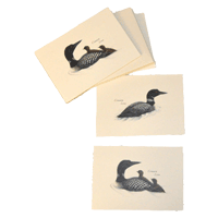 Loon Note Cards