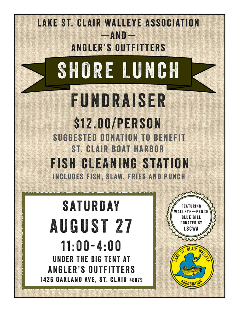 St Clair Fish cleaning station fundraiser