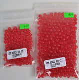 8MM Round or faceted plastic beads for crawler harnesses, drift rigs, jewelry.