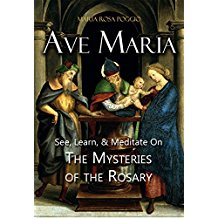 Ave Maria: See Learn & Meditate on the Mysteries of the Rosary Maria Rosa Poggio (Paperback)