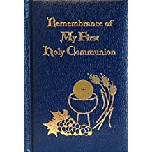 Remembrance of My First Holy Communion Deluxe Navy Edition Daughters of St. Paul (Hardcover)