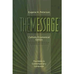The Message Catholic/Ecumenical Edition  <br>NavPress Publishing (Hardcover)
