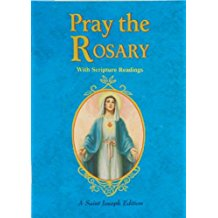 Pray the Rosary With Scripture Readings : A Saint Joseph Edition Catholic Book (Paperback)