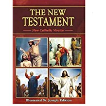 New Testament New Catholic Version Illustrated St Joseph Edition <br>Catholic Book (Paperback)