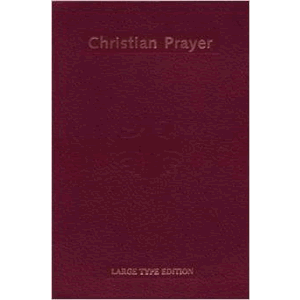 Christian Prayer (Large Type) <br>International Commission on English in T  (Imitation Leather)