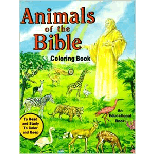 Animals of the Bible Coloring Book <br>Emma McKean