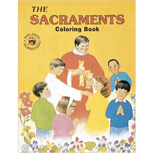 Coloring Book about the Sacraments<br>(Paperback)