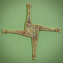 St. Brigid's Wall Cross and Card