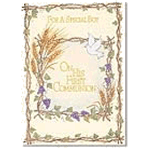 Special Boy First Communion Greeting Card