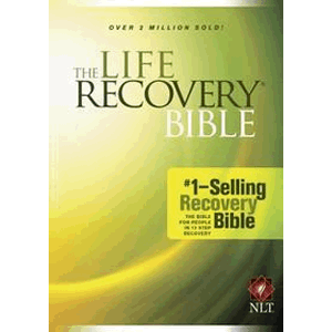 The Life Recovery Bible NLT Large Print<br>(Paperback)