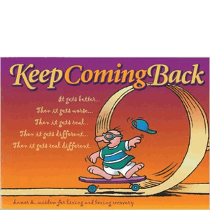Keep Coming Back<br>(Paperback)