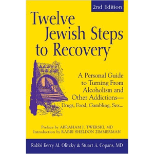 Twelve Jewish Steps To Recovery<br>(Paperback)