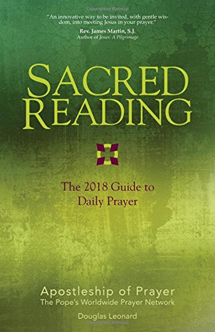 Sacred Reading - The 2018 Guide to Daily Prayer<br>Douglas Leonard (Paperback)