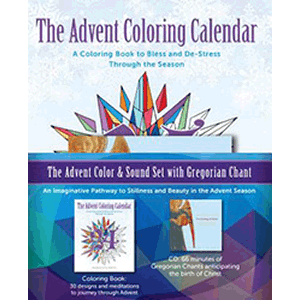 The Advent Color & Sound Set With Gregorian Chant CD<br>Paraclete Press (Paperback)