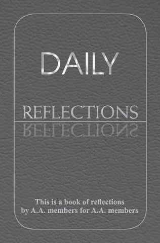 Daily Reflections Large Print <br> A.A. World Services (Paperback)