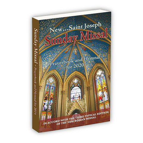 New Saint Joseph Sunday Missal Prayerbook and Hymnal for 2020 Catholic Book (Paperback)