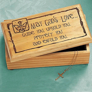 May Gods Love Keepsake Box