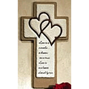 Love is a Miracle Wall Cross