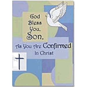 Son, As You Are Confirmed Greeting Card