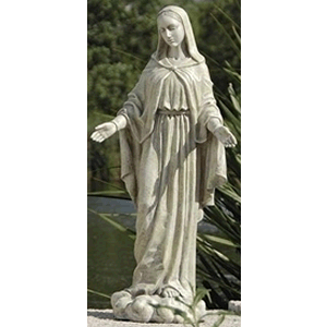 Our Lady of Grace Garden Staue