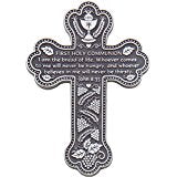 First Holy Communion Pewter Wall Cross