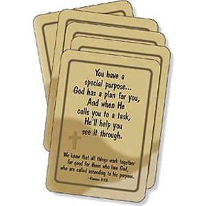 Purpose Prayer Cards