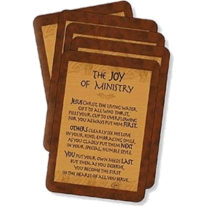 Joy of Ministry Prayer Cards