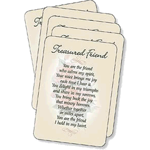 Treasured Friend Prayer Cards