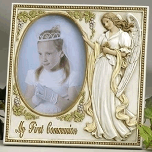 Angel My First Communion Frame