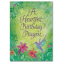 A Heartfelt Birthday Prayer Birthday Greeting Card