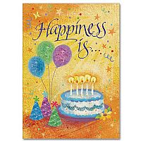 Happiness is....Birthday Greeting Card