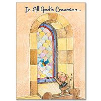 In All God's Creation Birthday Greeting Card