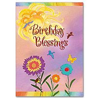 Birthday Blessings Birthday Greeting Card