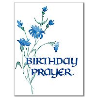 Birthday Prayer Greeting Card
