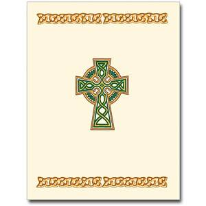 Traditional Celtic Cross Note Cards