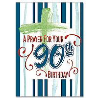 A Prayer For Your 90th Birthday Greeting Card