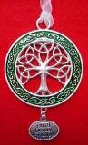 Irish/Celtic Metal Tree of Life Ornament