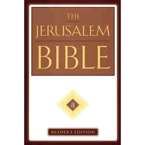Jerusalem Bible, Reader's Edition <br>Alexander Jones (Hard Cover)