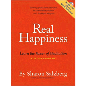 Real Happiness - The Power of Meditation - A 28 -Day Program <br>Sharon Salzberg (Paperback)